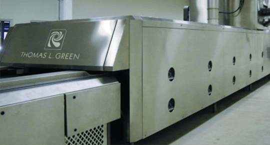 RBS introduces the Emithermic Oven Zone for more efficient baking of cookies and biscuits